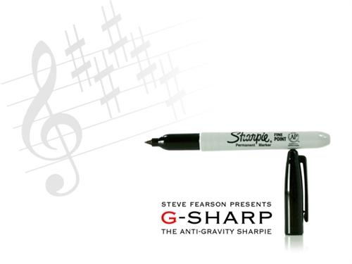 Anti Gravity Sharpie (G-Sharpie) - Steve Fearson