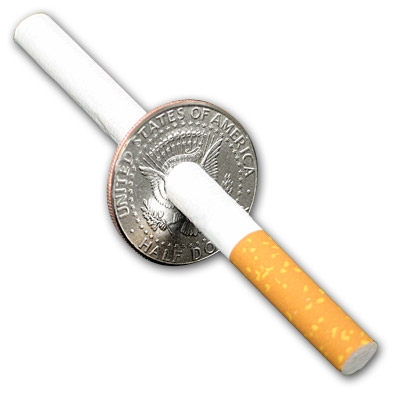 Cigarette thru Half by Johnson Products