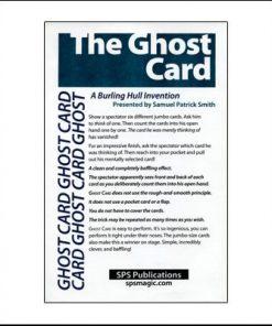 The Ghost Card (Jumbo)  - Samuel Patrick Smith
