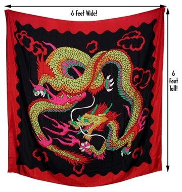 6ft Dragon Production Silk