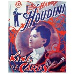 Houdini - King of Cards (Poster Reproduction)