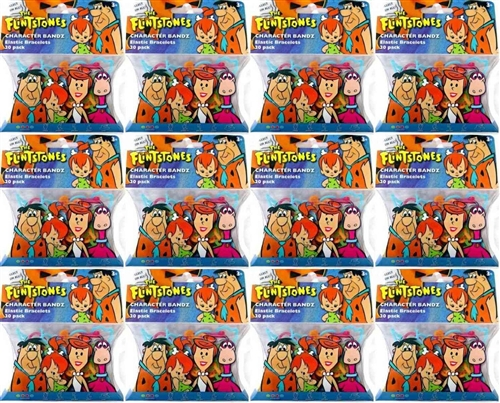 Hanna Barbera Character Rubberbands (12-pack)
