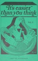It's easier than you think (Volume III) - Geoffrey Buckingham