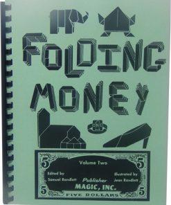 Folding Money Volume Two (book) - Samuel Randlett