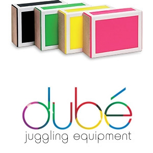 Juggling Cigar Box Pink - Dube
