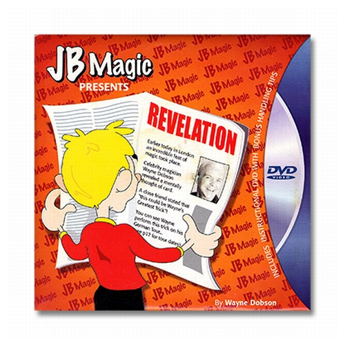 Revelation by Wayne Dobson and JB Magic - DVD