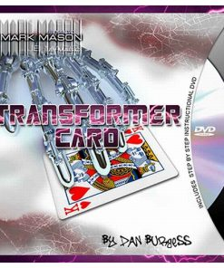 Transformer Card (blue Card and DVD) by Dan Burgess