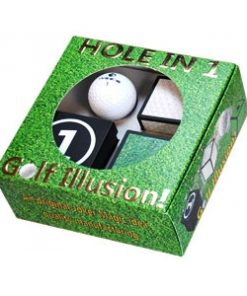 Hole in One - Golfball Illusion