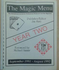 The Magic Menu YEAR TWO - Jim Sisti