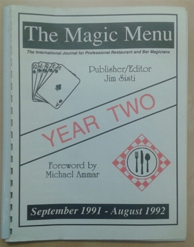 The Magic Menu YEAR TWO - Jim Sisti