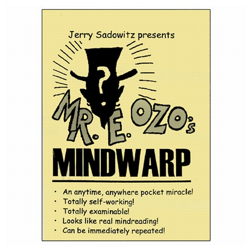 MindWarp - Jerry Sadowitz