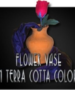Terra Cotta Flower Vase -Magic Latex