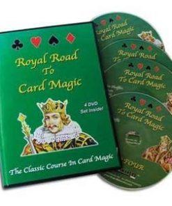 Royal Road To Card Magic (DVD Set)