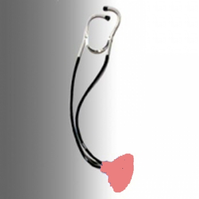 Gag Stethoscope with Plunger