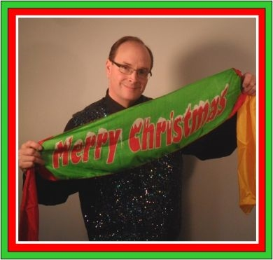 Flash Appearing Christmas Banner - Tommy James