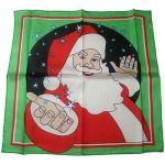 "Silk 18"" Santa by Magic By Gosh"