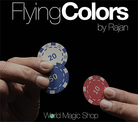Flying Colors (Gimmicks and Online Instructions) by Rajan - DVD