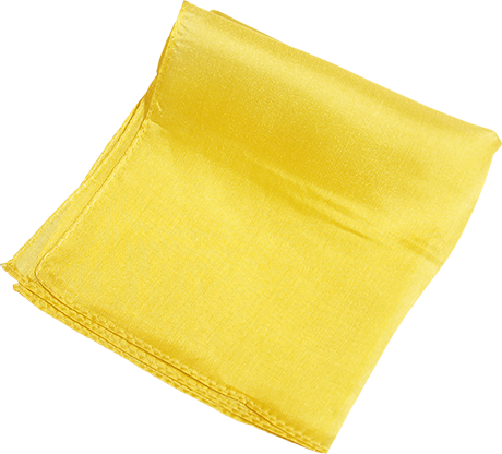 "Silk 6"" (Yellow) Magic By Gosh - Trick"