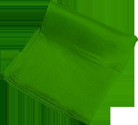 "Silk 6"" (Green) Magic By Gosh - Trick"
