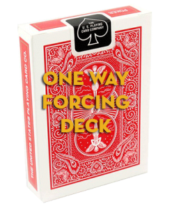 Mandolin Red One Way Forcing Deck (7s)