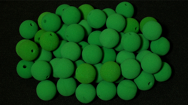 """Noses 1.5"""" (Green) Bag of 50 from Magic by Gosh"""