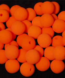 "Noses 1.5"" (Orange) Bag of 50 from Magic by Gosh"