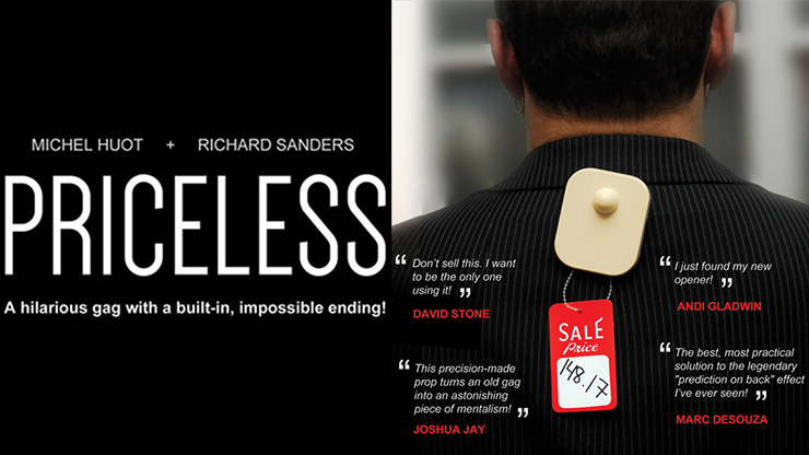 Priceless (Gimmick and Online Instructions) by Michel Huot and Richard Sanders - Trick
