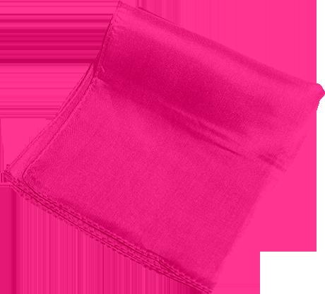 "Silk 18"" (Hot Pink) Magic by Gosh - Trick"