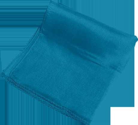 "Silk 6"" (Turquoise) Magic by Gosh - Trick"