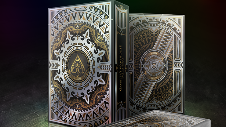 Alloy Copper Playing Cards Special Numbered Edition Deck (Copper)
