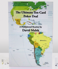 Ultimate Ten-Card Poker Deal by David Malek - Book