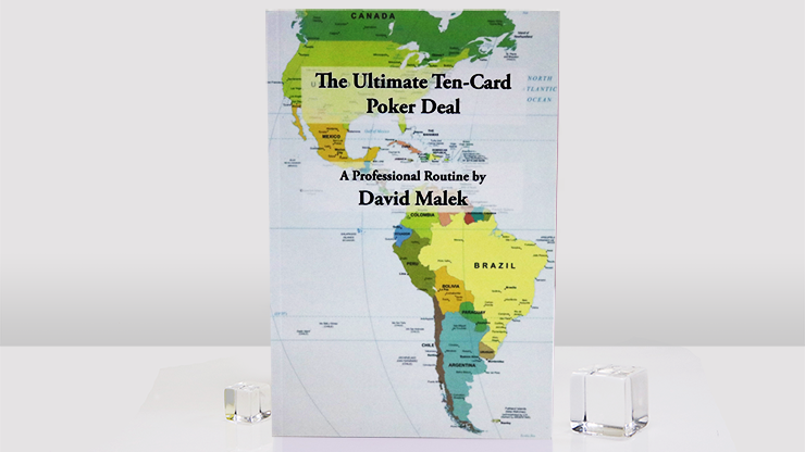 Ultimate Ten-Card Poker Deal by David Malek - Book