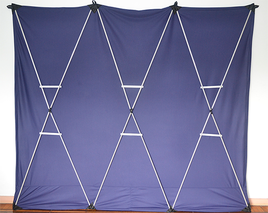 Lightweight Stage Curtain (Blue) by Nahuel Oliveria - Trick