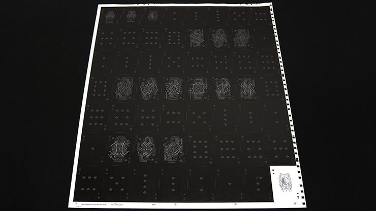 Darkfall Playing Card Uncut sheets
