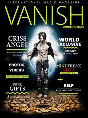 VANISH Magazine - Criss Angel Special Edition eBook DOWNLOAD