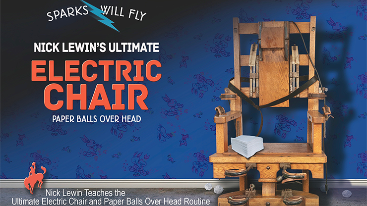 Nick Lewin's Ultimate Electric Chair and Paper Balls Over Head - DVD