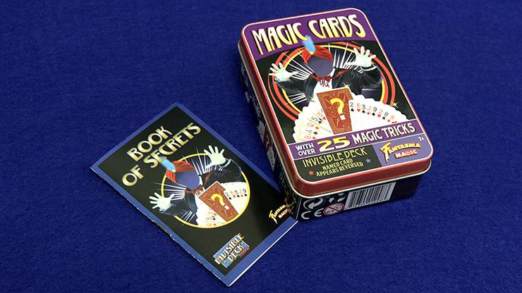Retro Invisible Deck Kit (XRAY) (Tin of 25 Tricks) by Fantasma Magic