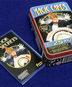 Retro Phantom Deck Kit (Tin of 25 Tricks) by Fantasma Magic
