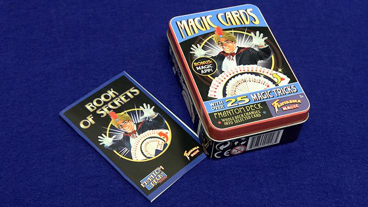 Retro Phantom Deck Kit (Tin of 25 Tricks) by Fantasma Magic