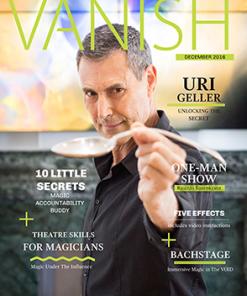 VANISH Magazine December/January 2017 - Uri Gellar eBook DOWNLOAD