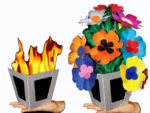 Fire to Flower Vase - Tora