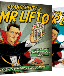 MR LIFTO (DVD and Red Gimmicks) by Ryan Schlutz and Big Blind Media - DVD
