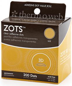 "Sticky Dots 3D (1/2"" Diameter) Roll of 200"