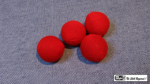 "Crochet Balls (Red 2"") by Mr. Magic - Trick"