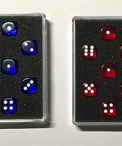 Prediction Gimmicked Dice Red (7 Dice) by Kreis - Trick
