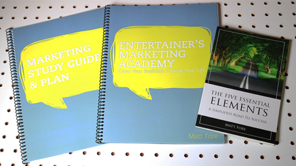 Entertainer's Marketing Academy (EMA) by Matt Fore - Book