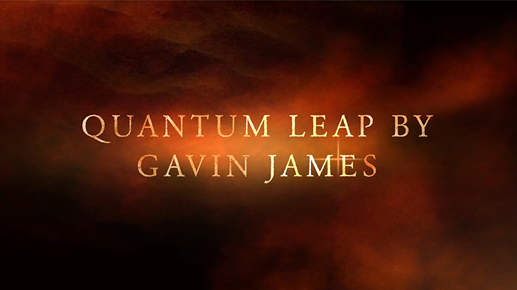 Quantum Leap Red (Gimmicks and Online Instructions) by Gavin James - Trick