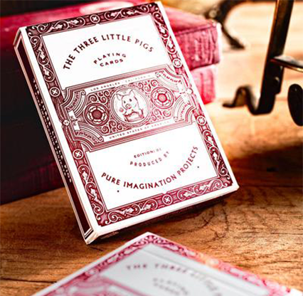 The Three Little Pigs Playing Cards by Pure Imagination Projects
