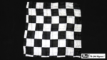 """Production Hanky Chess Board Black and White (21"""" x 21"""") by Mr. Magic - Trick"""