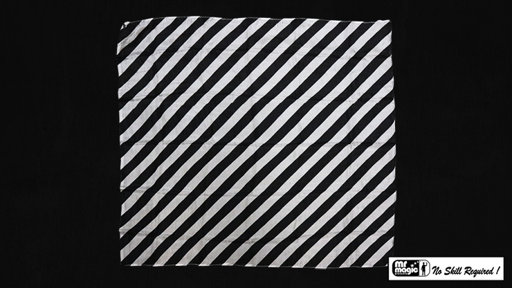 """Production Hanky Zebra Black and White (21"""" x 21"""") by Mr. Magic - Trick"""